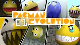 Pacman evolution 01