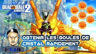 OBTENIR LES 7 BOULES DE CRISTAL RAPIDEMENT sur DRAGON BALL XENOVERSE 2