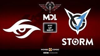 VGJ.Storm vs Team Secret Game 2 | MDL Changsha Major Upper Bracket R2 | BO3