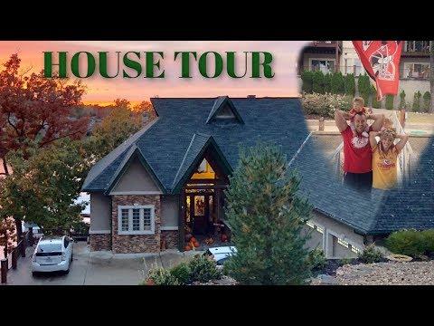 HOUSE TOUR! | LIVING W/ PARENTS w/ TWIN BABIES 😳