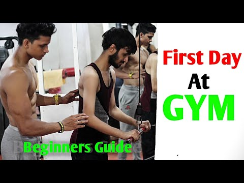 Xxx Mp4 First Day At GYM Beginners Full Workout Yash Anand 3gp Sex