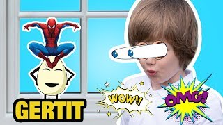 Spider Man and Surprise Egg QAPAQUL Surprising GERTIT at Home! Per femije te vegjel