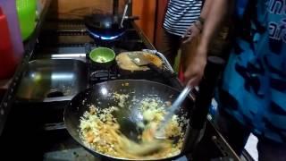 Cara membuat nasi goreng spesial   street food