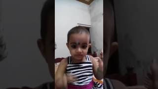 Baby singing Malayalam melody song