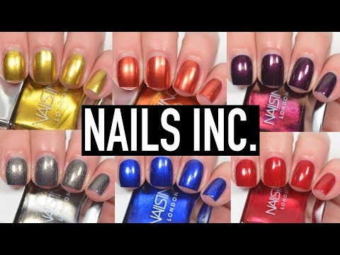 Xxx Mp4 Nails Inc New Shades Swatch And Review 3gp Sex