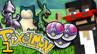 Minecraft: Pokemon Ep. 1 - 1v1v1 BATTLE CHALLENGE w/ SSundee & Crainer