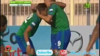 احمد الشيخ لاعب الاهلي المعار يتألق و يحرز هدفين ويصنع الثالث في مباراة مصر المقاصه و انبي 3-0