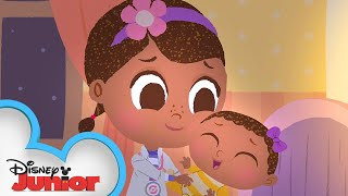 Rock-a-bye Baby 🍼  | 🎼  Disney Junior Music Nursery Rhymes | Disney Junior