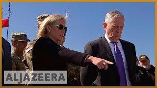 🇺🇸Jim Mattis visits troops stationed at US-Mexico us border | Al Jazeera English