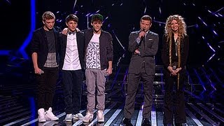 The Result - Live Week 2 - The X Factor UK 2012