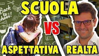 SCUOLA - ASPETTATIVA VS REALTÀ - iPantellas
