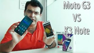 Moto G 3rd Generation VS Lenovo K3 Note