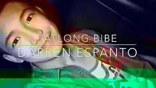 Darren Espanto-Tatlong bibe