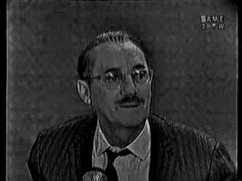 What s My Line Judy Grable & Groucho Marx