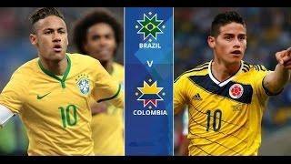 ملخص مباراة البرازيل وكولمبيا  07-09-2016 تصفيات كأس العالم: أمريكا الجنوبية