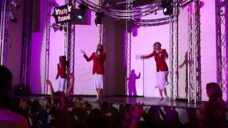 Butlins redcoats dance the chocolatte