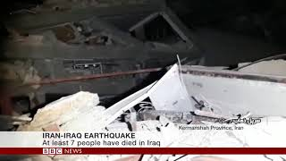 Iran Iraq border earthquake is deadliest of 2017   BBC News