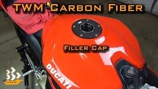 Tinkering | TWM Carbon Fiber Quick-Action Fuel Filler Cap