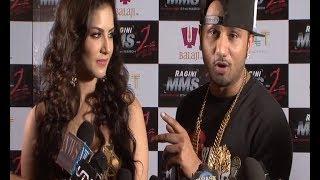 Yo Yo Honey Singh making INSTANT RAP songs during an interview.