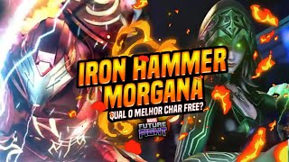 Qual o melhor CHAR FREE? Morgana vs Iron Hammer - MARVEL Future Fight