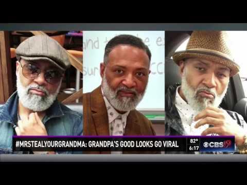 #MrStealYourGrandma: Grandpa's Sexy Looks Go Viral