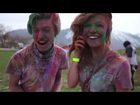 Ellie Goulding - Starry Eyed Paper Deer remix -- Festival of Colors