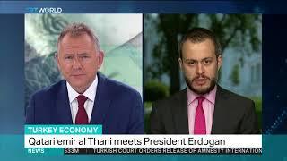 Qatar pledges $15bn to Turkey