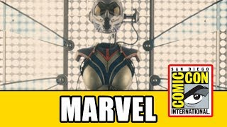 HUGE Captain Marvel & Ant-Man And The Wasp News - Marvel Comic Con 2017 Panel
