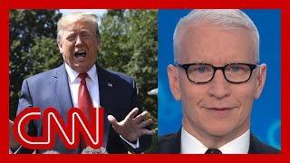 """Cooper counts Trump's flip-flops: """"Buckle up"""""""