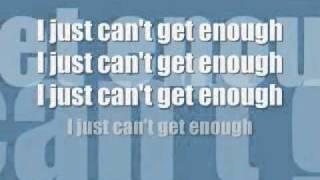 I Just Can't Get Enough Lyrics Black Eyed Peas