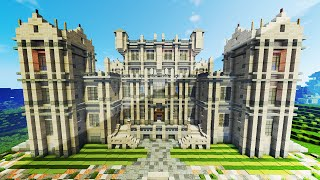THE WAYNE MANOR (w/ Batcave + BatGear!) - Minecraft Maps & Mods
