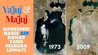Ya'juj dan Ma'juj Akan Menghabiskan Air ! Gog and Magog drinking all the water they pass