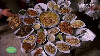 صاحبة السعادة | اكلة سمك | اشهر انواع السمك مع ايهاب ابو علي والفنانة شيماء سيف | الجزء الثاني
