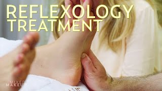 We Tried a Reflexology Treatment at Caudalie in Los Angeles! | The SASS with Susan and Sharzad