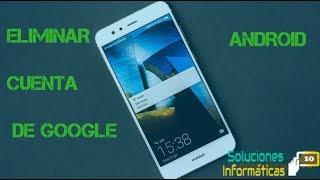 Fácil Eliminar cuenta de Google Antirrobo de cualquier celular android  2018