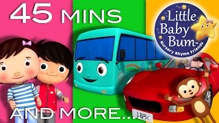 Nursery Rhymes Collection | Volume 3 | 45 Minutes Compilation from LittleBabyBum!