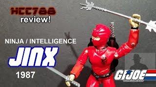 HCC788 - 1987 JINX - Ninja/Intelligence - Vintage G.I. Joe toy!