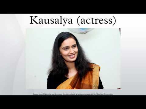 Kausalya (actress)