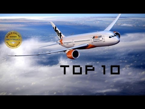 Top 10 Low-Cost Airlines 2013 World Airline Awards [HD]