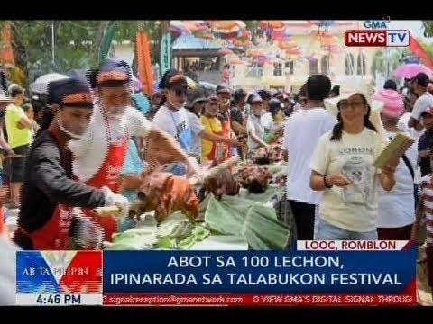 Xxx Mp4 BP Abot Sa 100 Lechon Ipinarada Sa Talabukon Festival 3gp Sex