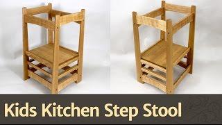 236 - Kids Kitchen Step Stool