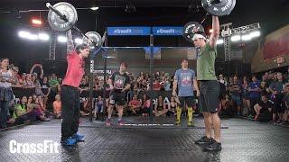 Ro Vs. Boz: Open Workout 16.3 in 4K