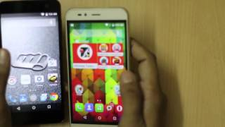 Intex Cloud Swift vs Micromax Canvas Nitro 4G