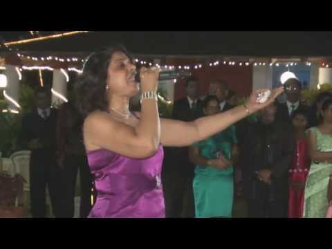 Nephie Rod sings a wedding special song Konkani for Goan Wedding