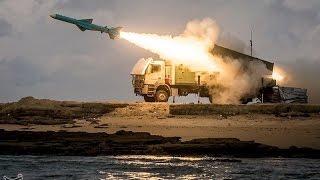 """ايران تطلق صواريخ كروز """"نور"""" في مناورات الولاية 94"""