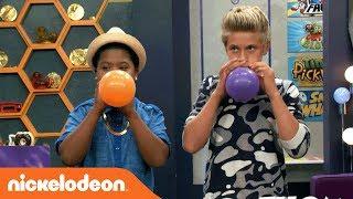 Benji vs. Thomas in the Balloon Challenge🎈   Game Shakers   Nick