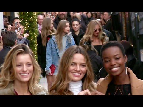 Lily Aldridge Irina Shayk Kendall Jenner Gigi Hadid Bella Hadid and more in Paris