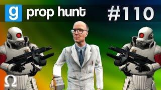 LITTLE HUNTERS, THE LEGEND OF GNOMEWRECKER!   Prop Hunt #110 Funny Moments