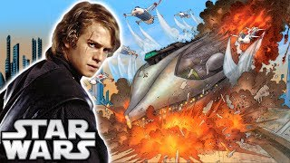 How Anakin Used the Force to Stop the MASSIVE Ship in Revenge of the Sith - Star Wars Explained