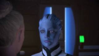 Mass Effect Scene Female Shepard Liara HD
